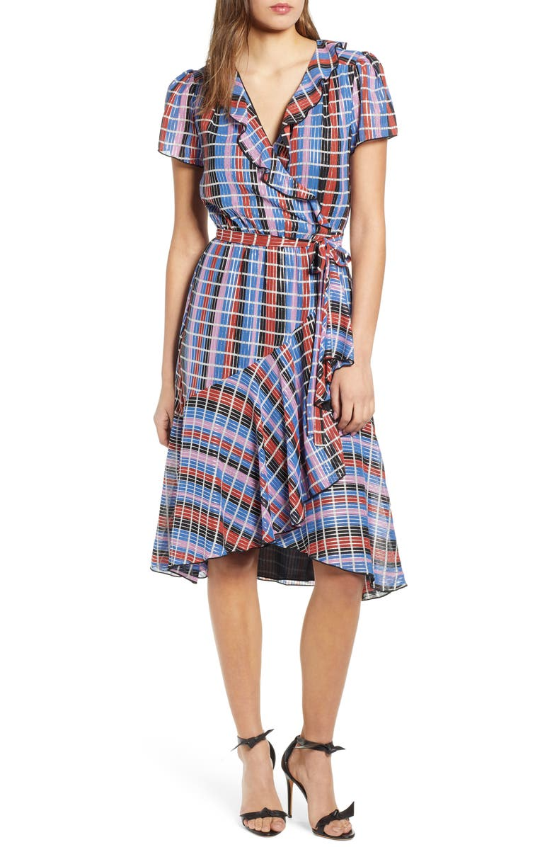WAYF Sutton Wrap Dress