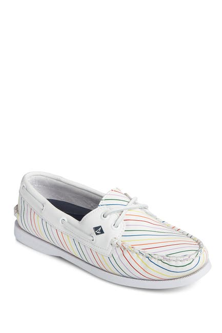 Image of Sperry A/O 2-Eye Pride Boat Shoe
