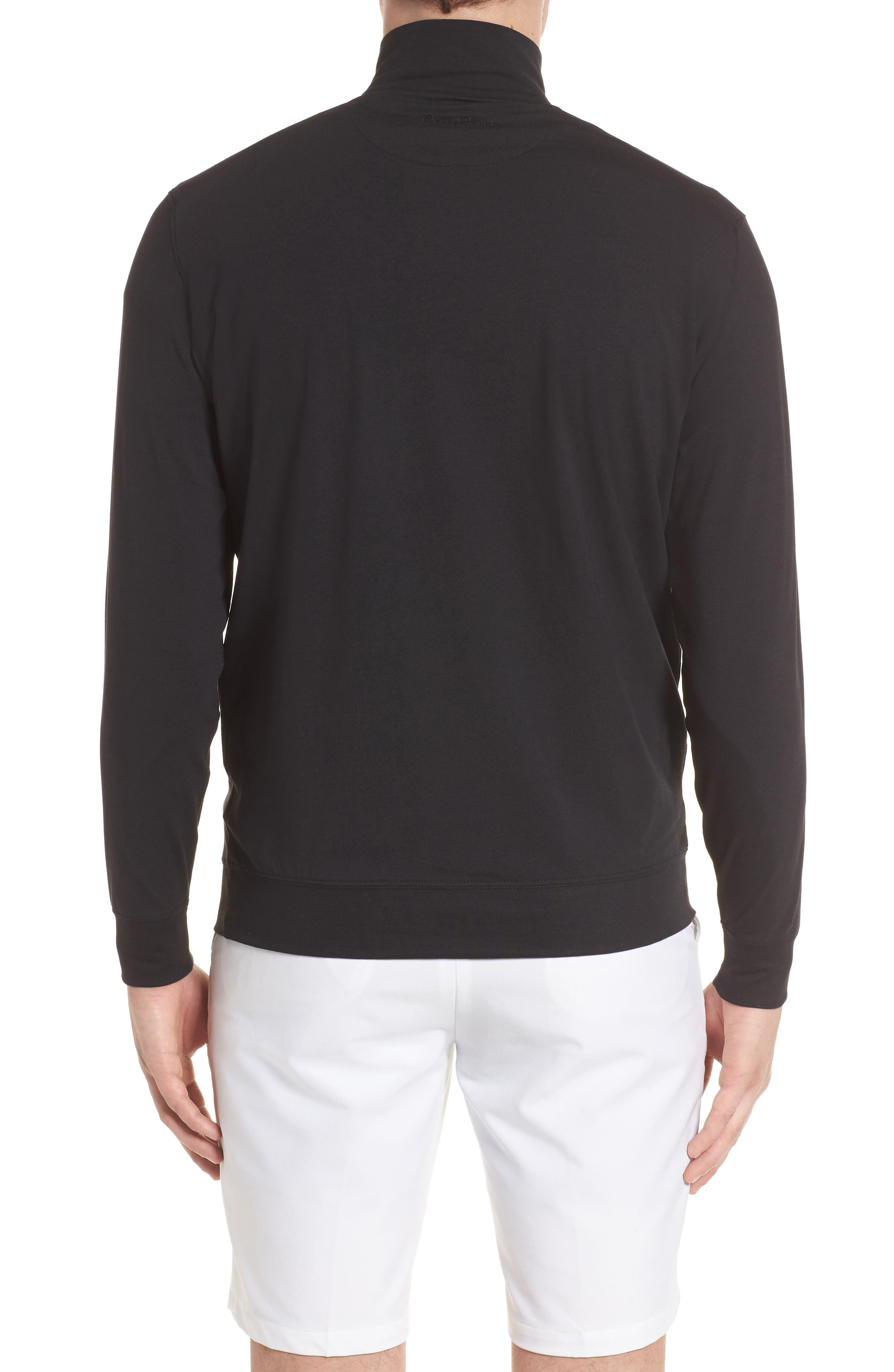 ,                             PTO Liquid Stretch Quarter Zip Pullover,                             Alternate thumbnail 2, color,                             001
