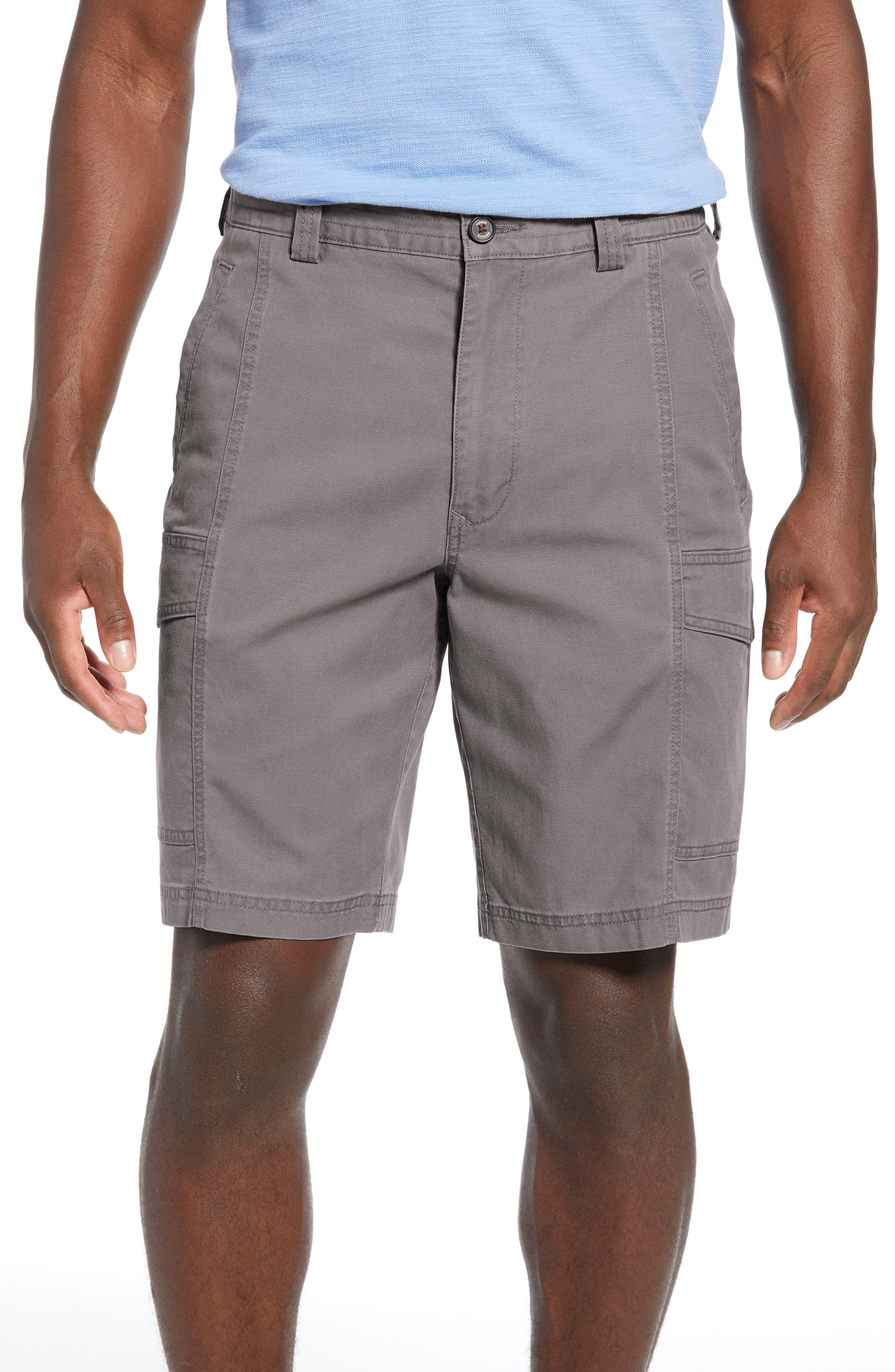 Tommy Bahama Key Isles Cargo Shorts, Black