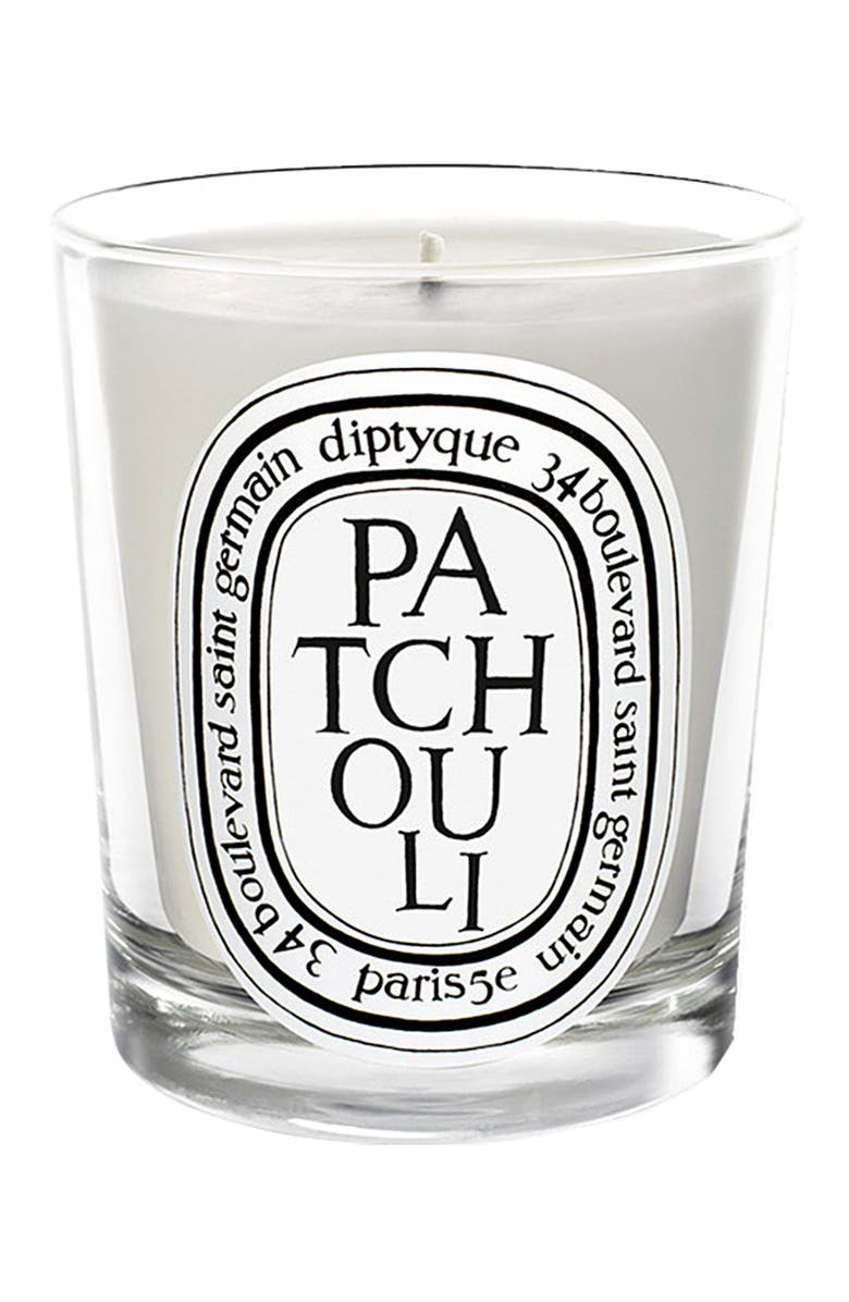DIPTYQUE Patchouli Scented Candle, Main, color, NO COLOR