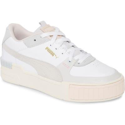 Puma Cali Sport Sneaker, White