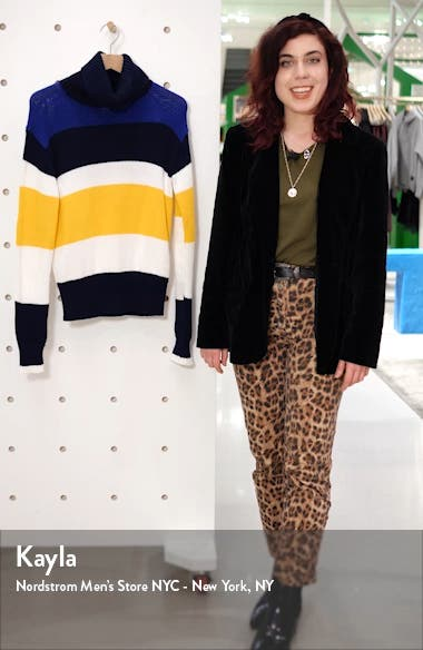 Turtleneck Stripe Sweater, sales video thumbnail