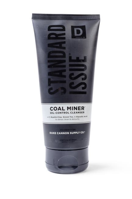 Image of DUKE CANNON Coal Miner Oil Control Face Cleanser