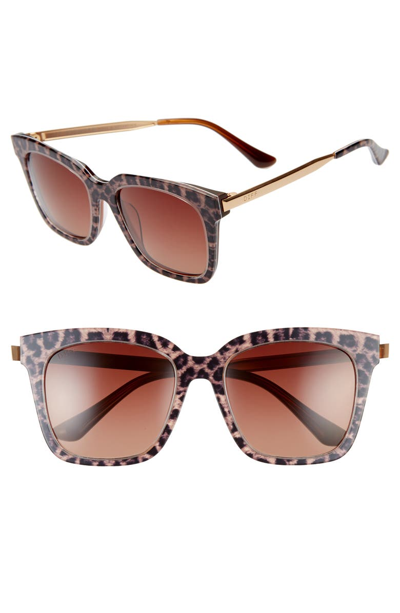 Bella 50mm Sunglasses by Diff