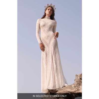 Willowby Russell Long Sleeve Lace Wedding Dress