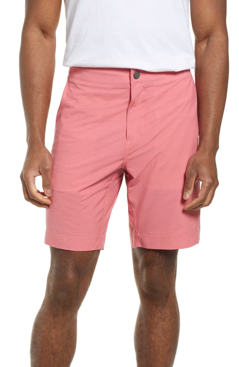 FAHERTY All Day Flat Front Shorts, Main, color, SPICE