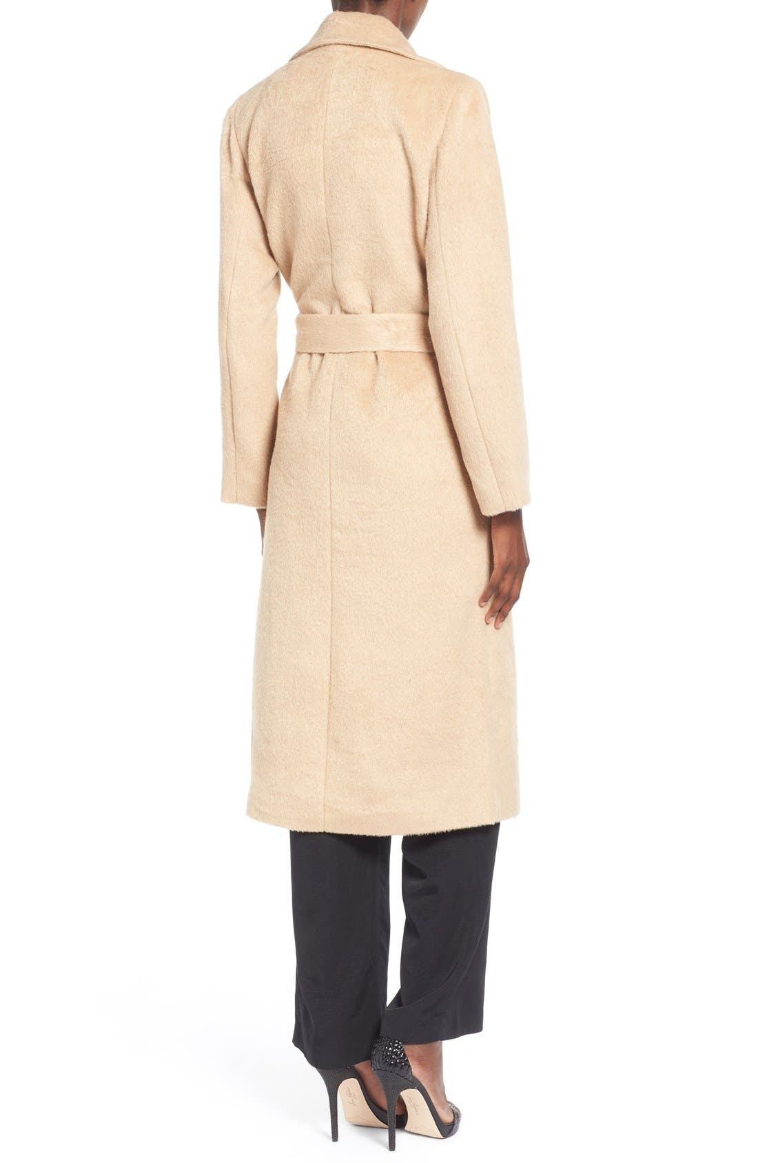 ,                             Belted Wrap Coat,                             Alternate thumbnail 4, color,                             250