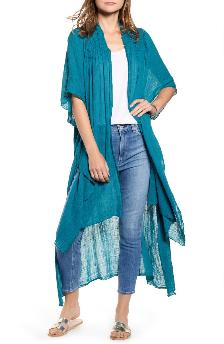 FREE PEOPLE Angelica Wrap, Main, color, TURQUOISE
