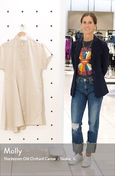 Multi Stripe Cotton Shirtdress, sales video thumbnail