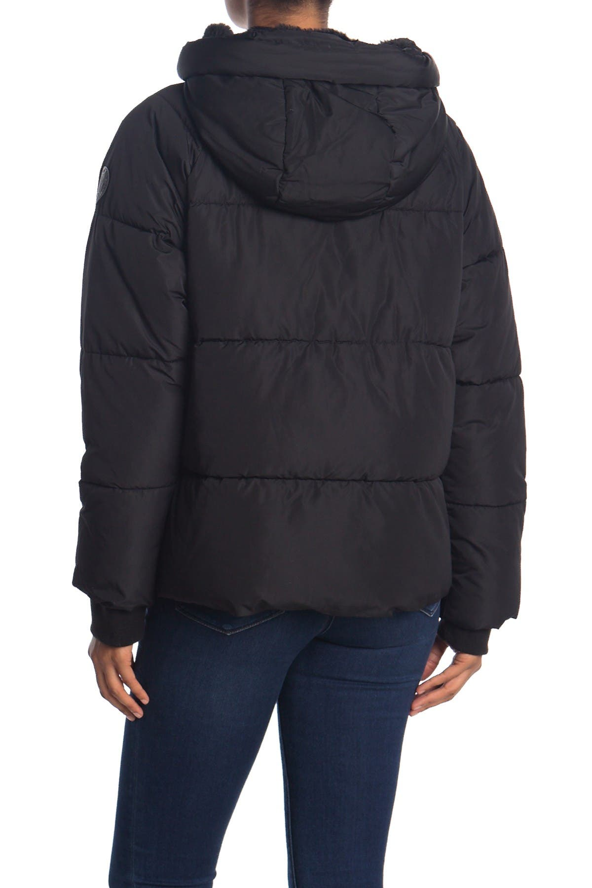 DKNY Short Puffer with Hood