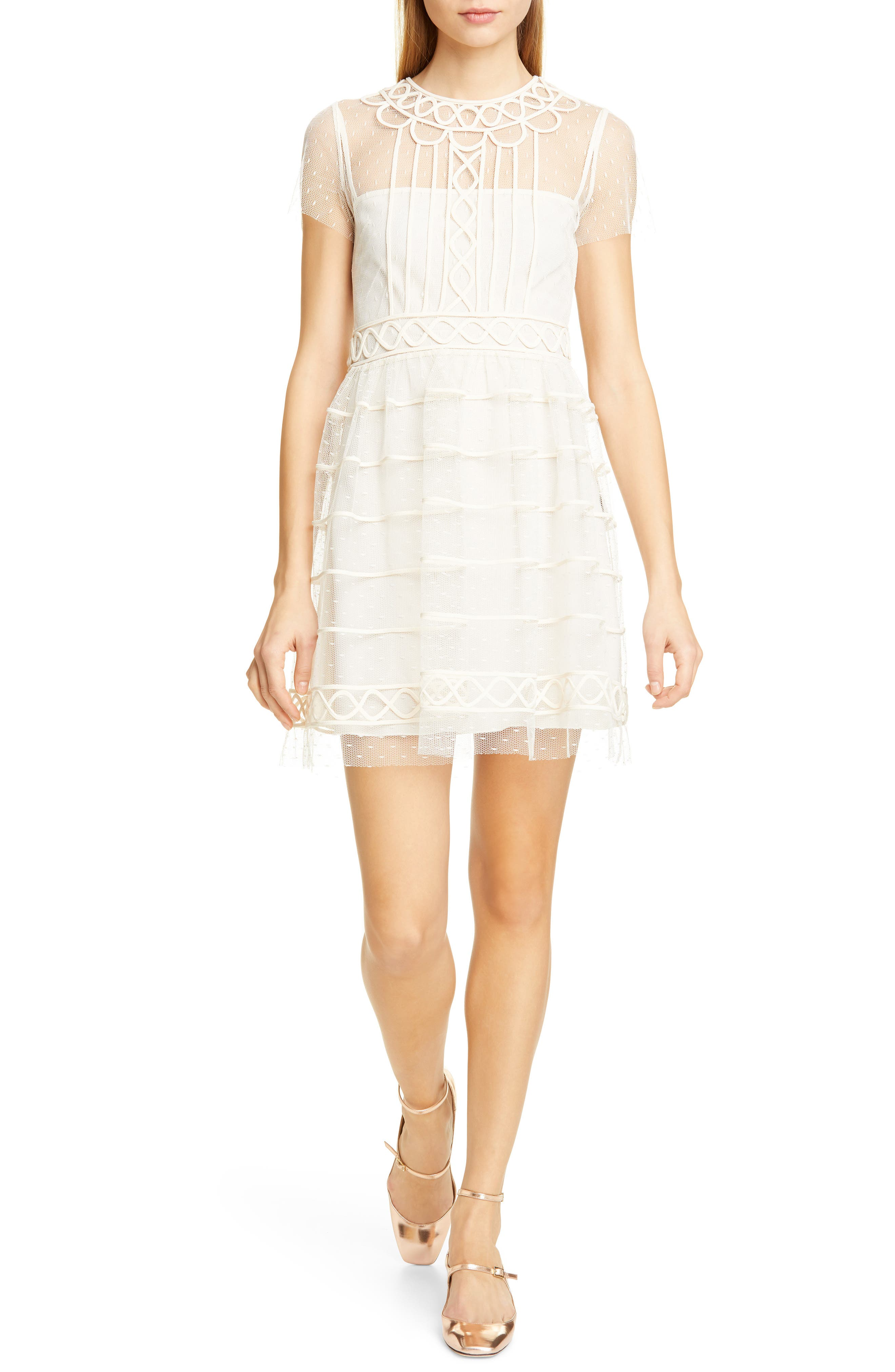 Red Valentino Tiered Point D