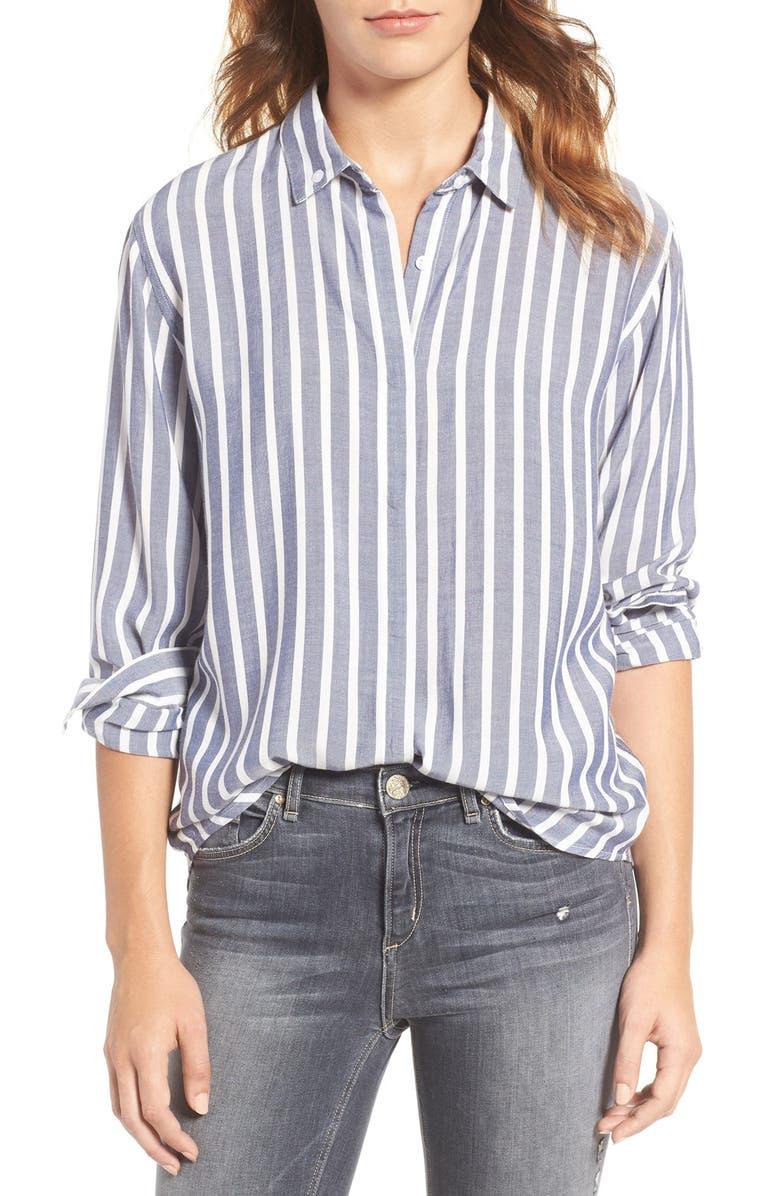 RAILS Avery Button Back Shirt, Main, color, 425