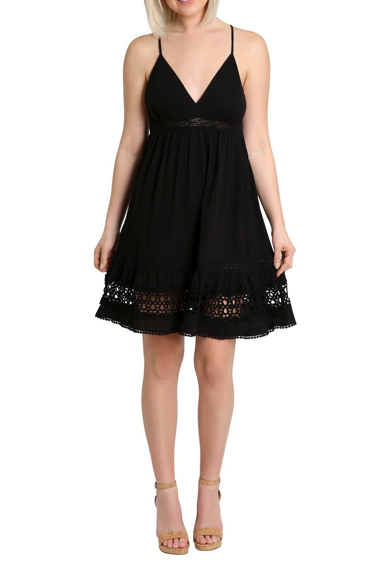 Image of NANETTE nanette lepore Stella Spaghetti Crochet Dress