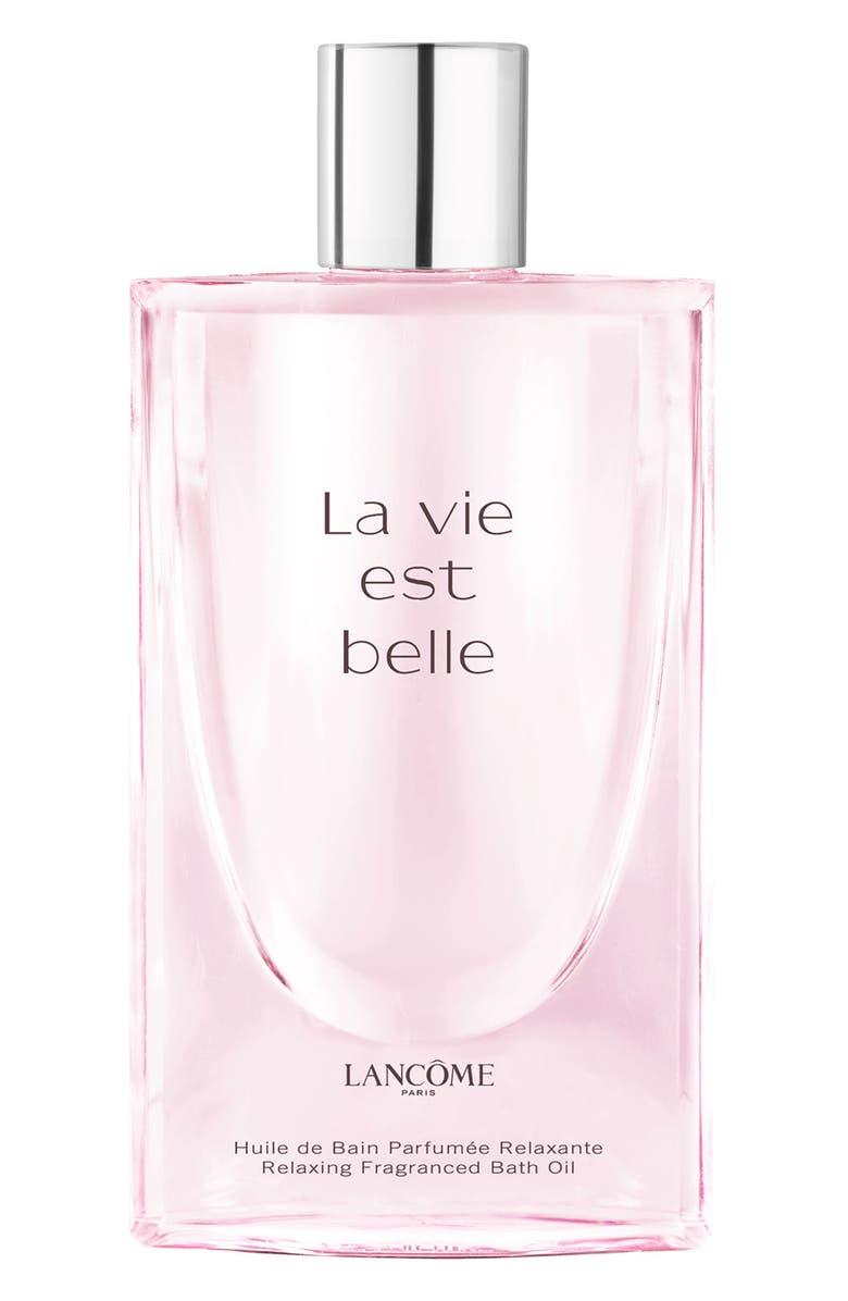 LANCÔME La Vie est Belle Relaxing Fragrance Bath Oil, Main, color, NO COLOR