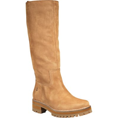Timberland Courmayeur Valley Knee High Boot- Brown