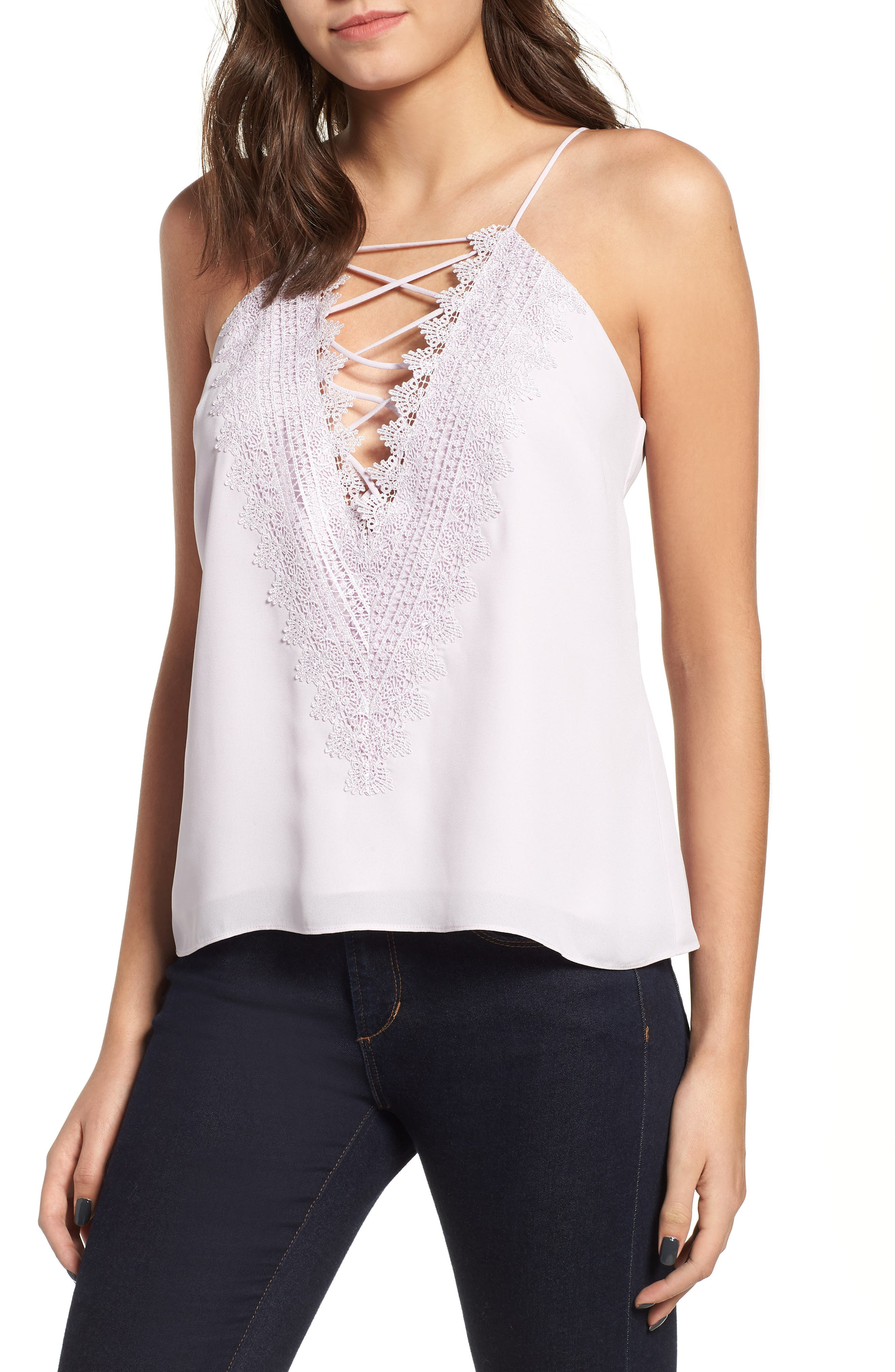 ,                             Posie Strappy Camisole,                             Main thumbnail 110, color,                             505