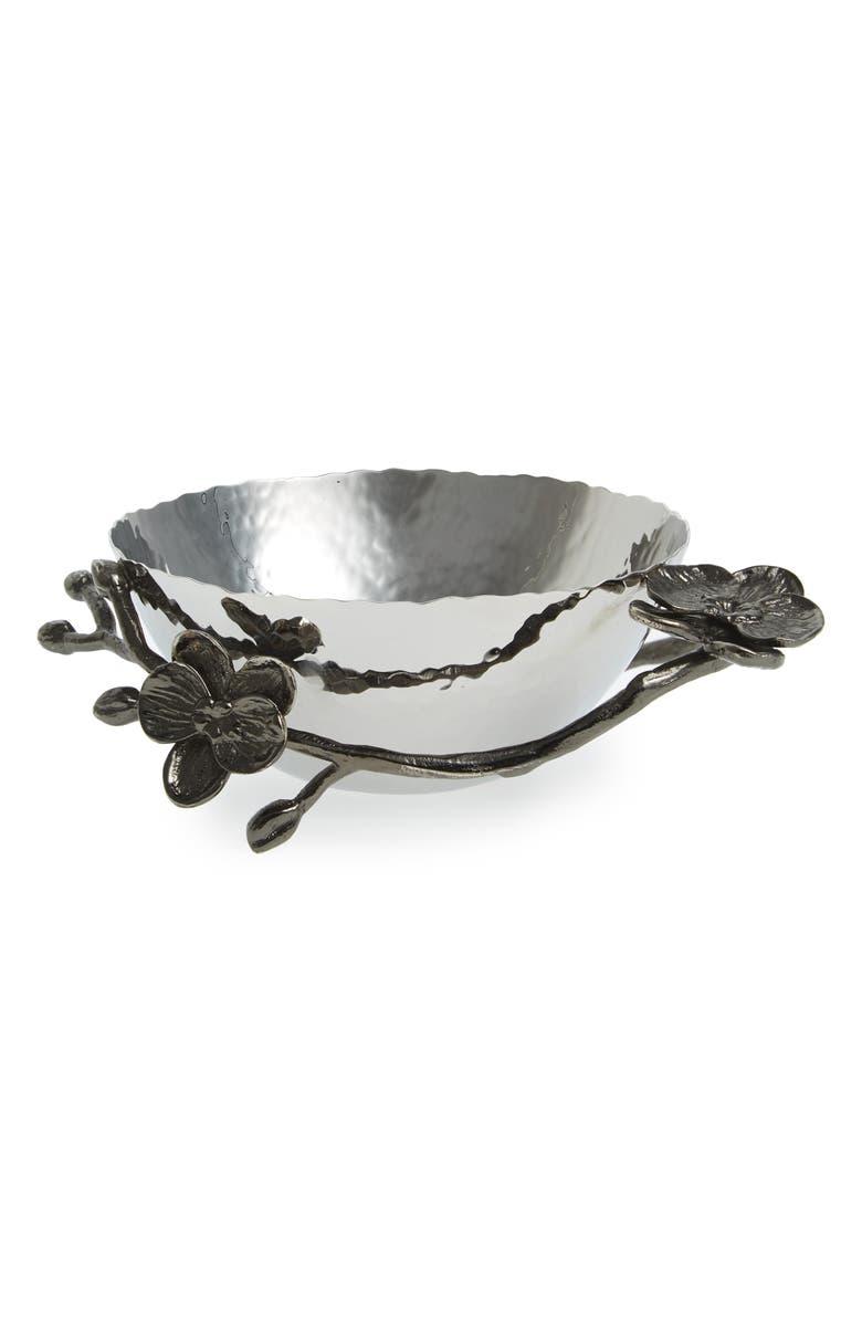 MICHAEL ARAM 'Black Orchid' Nut Bowl, Main, color, 043