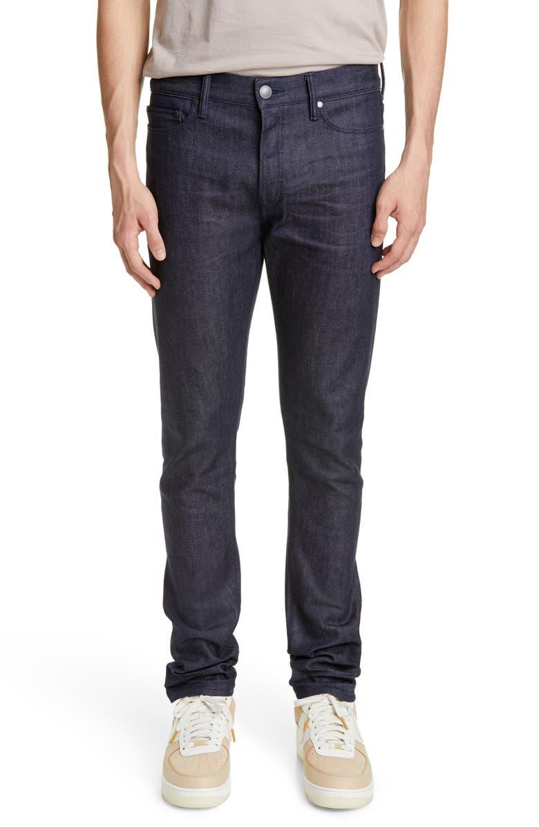 JOHN ELLIOTT The Cast 2 Slim Fit Jeans, Main, color, RAW INDIGO