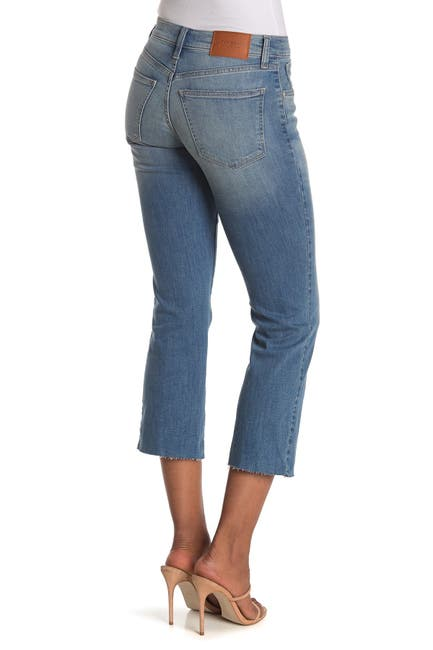 Image of Lucky Brand Mid Rise Ava Mini Bootcut Cropped Jeans