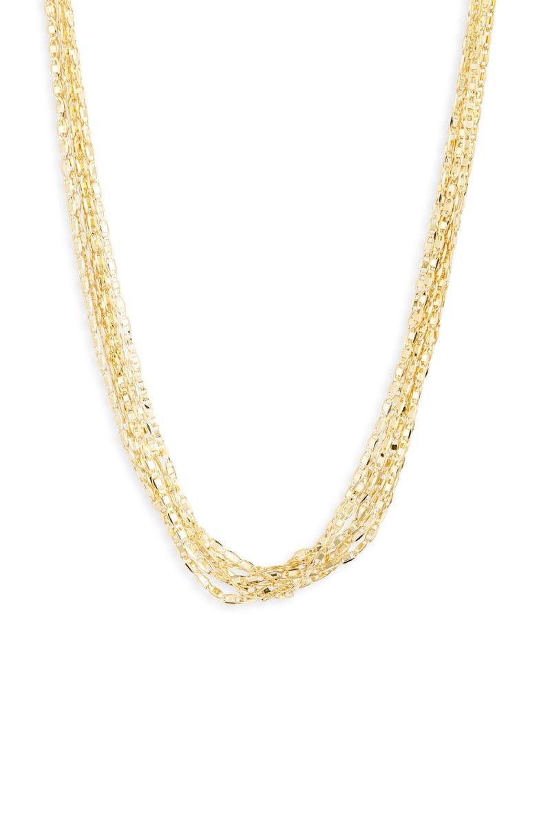 BILLIE VALENTINE Layered Fringe Necklace, Main, color, 710