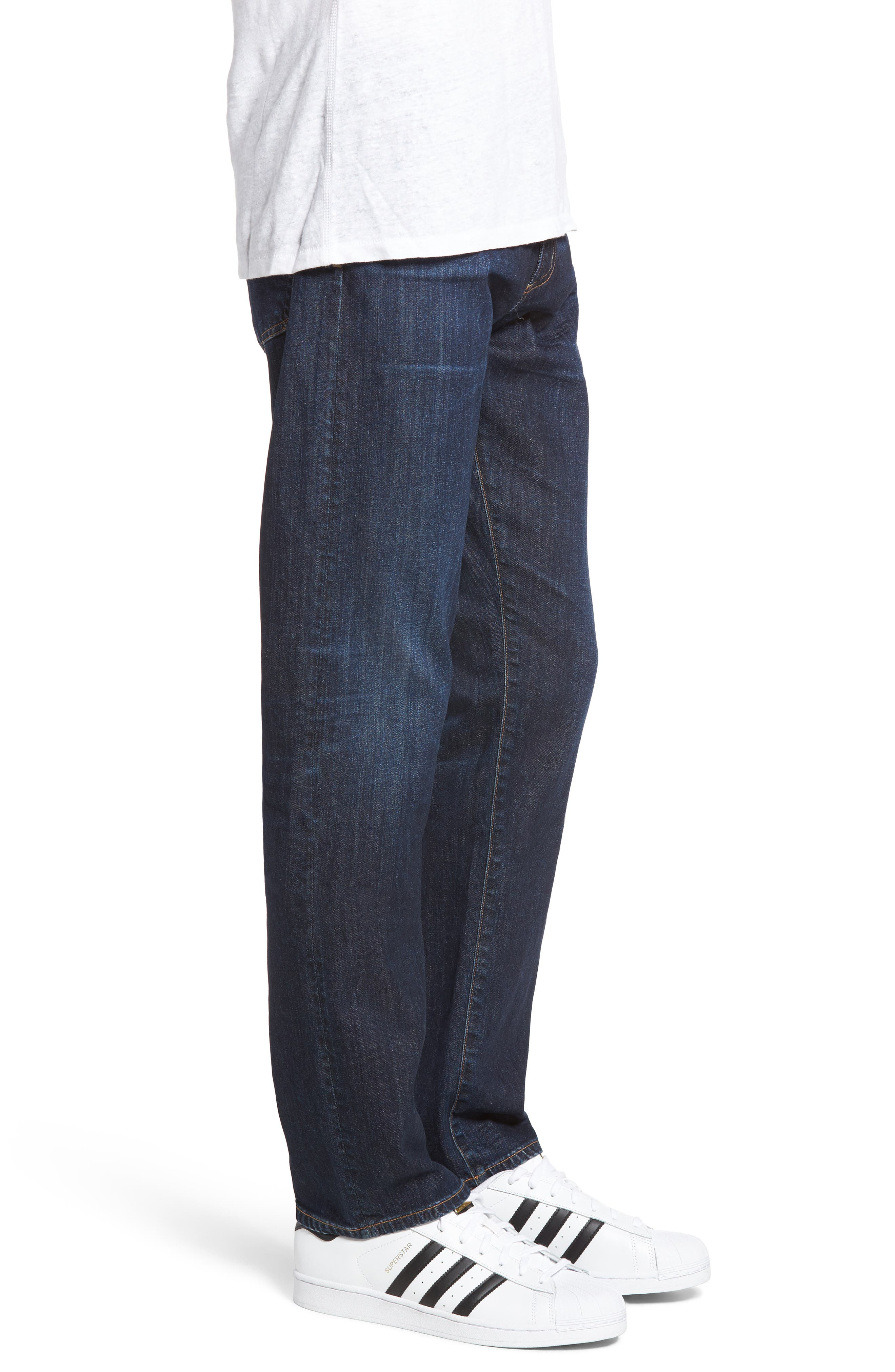 ,                             Bowery Slim Fit Jeans,                             Alternate thumbnail 3, color,                             EMERY