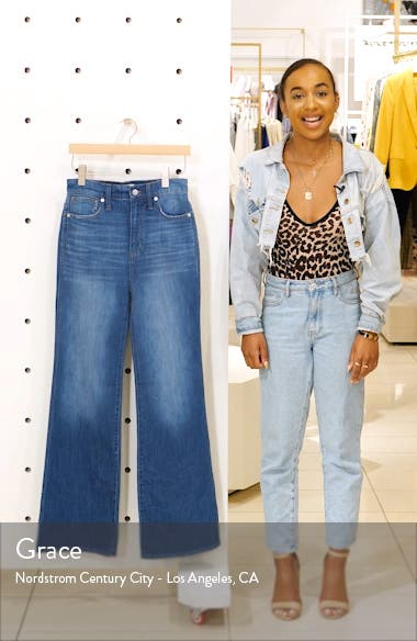 High Waist Flare Jeans, sales video thumbnail