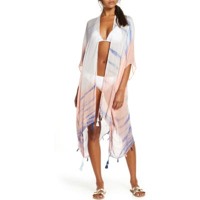 Pool To Party Ocean Sunrise Cover-Up, Size One Size - Blue