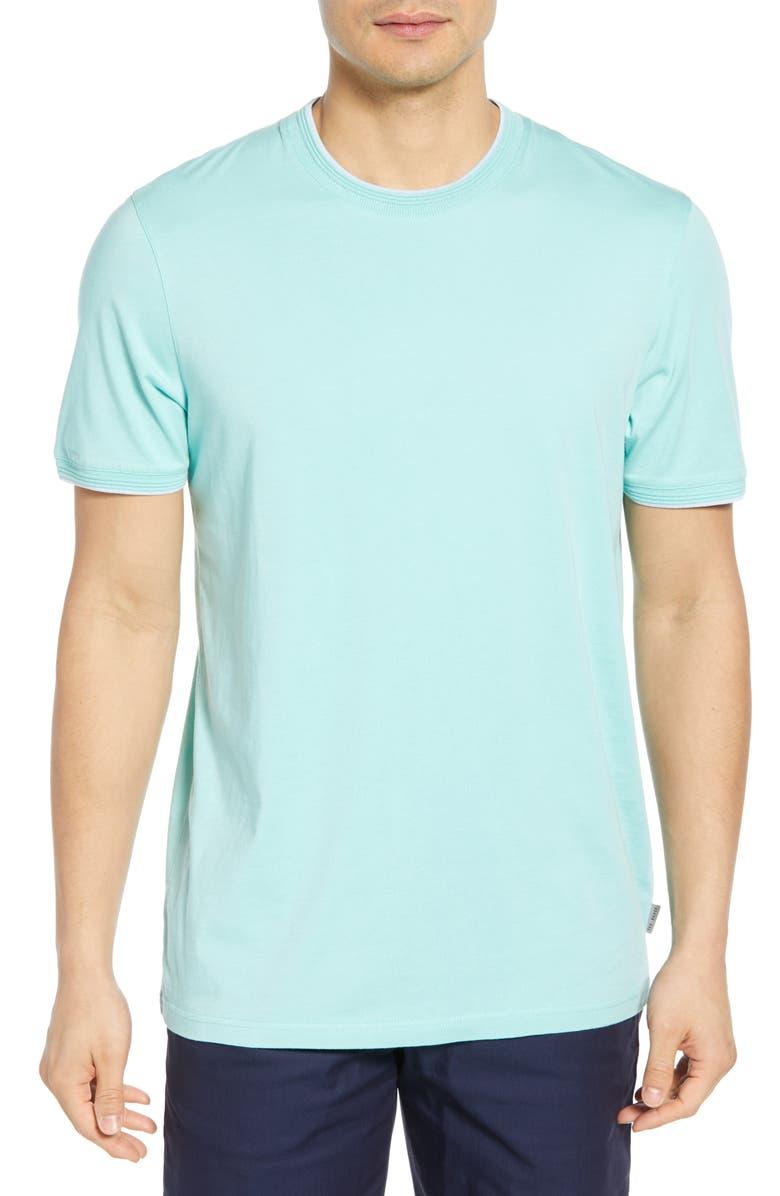 TED BAKER LONDON Sink Slim Fit T-Shirt, Main, color, MINT