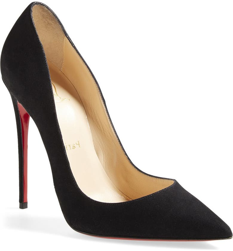 new products bfb6f b0835 'So Kate' Pointy Toe Suede Pump
