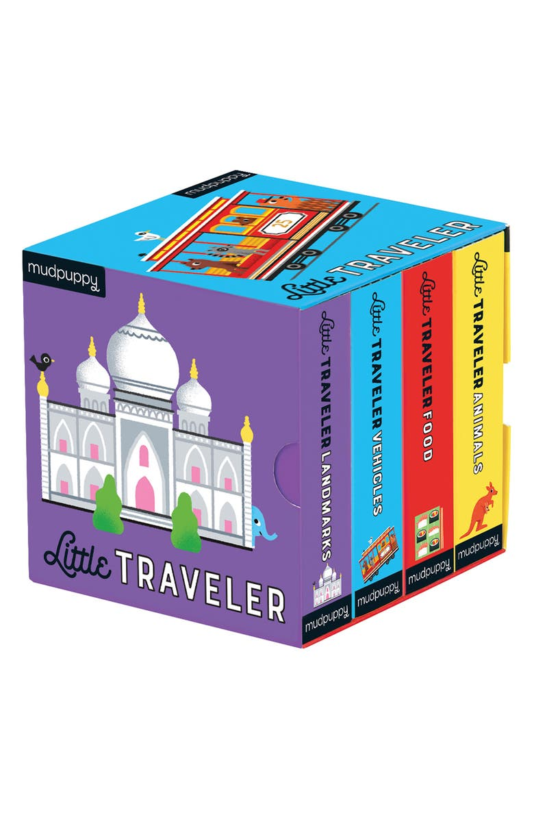 CHRONICLE BOOKS 'Little Traveler' Board Book Set, Main, color, MULTI
