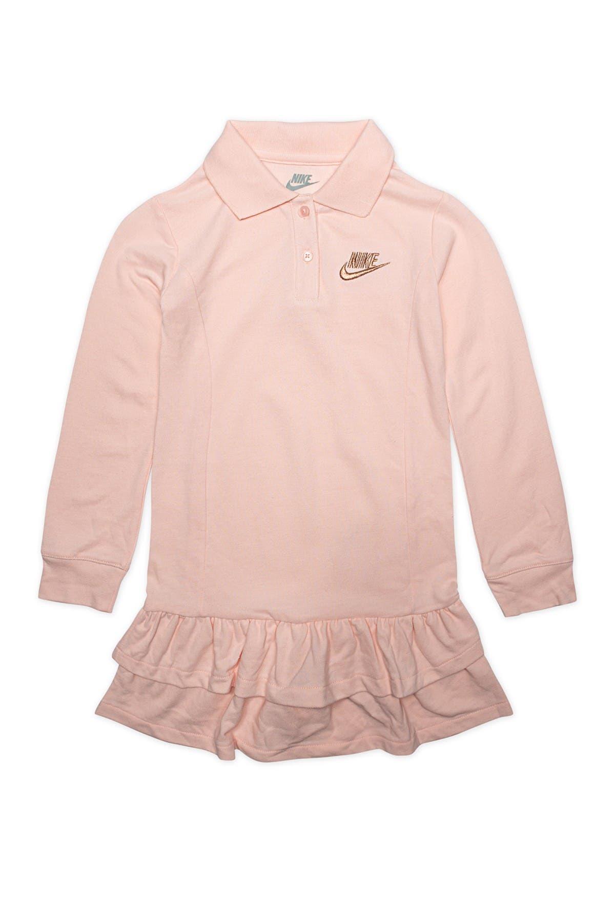 Image of Nike Long Sleeve Polo Dress