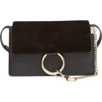 Chloe Small Faye Leather Crossbody Bag -
