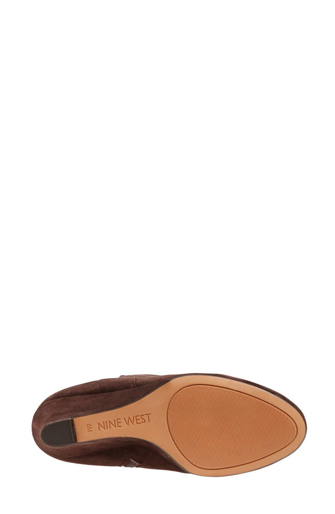 ,                             'Oran' Tall Wedge Boot,                             Alternate thumbnail 15, color,                             201