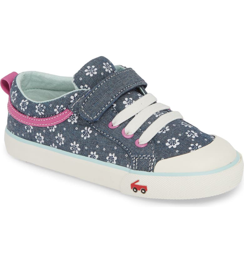 SEE KAI RUN Kristin Sneaker, Main, color, CHAMBRAY FLOWERS