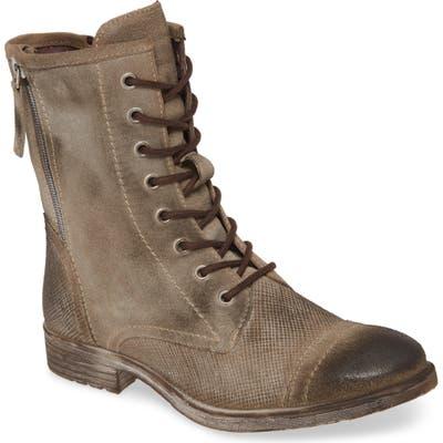 Roan Affair Combat Boot- Brown