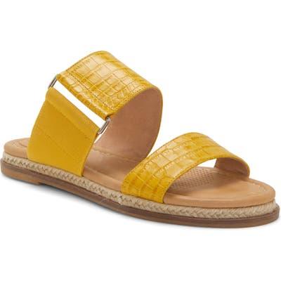 Cc Corso Como Glennia Slide Sandal- Yellow