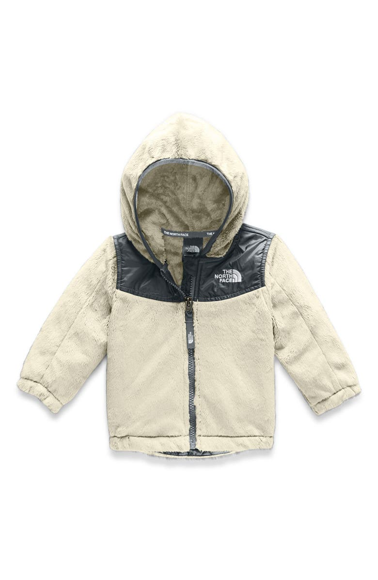 THE NORTH FACE Oso Hooded Fleece Jacket, Main, color, VINTAGE WHITE
