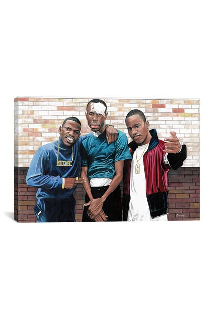 Image of iCanvas Paid In Full by Manasseh Johnson
