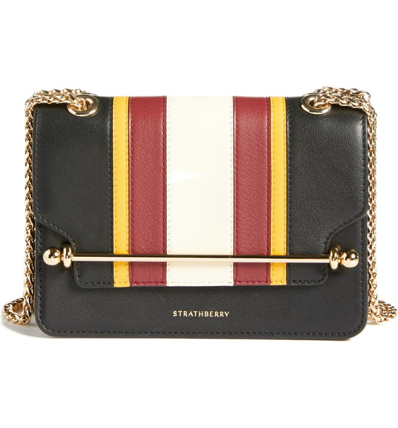 6277d638a Strathberry Mini East/West Stripe Leather Crossbody Bag | Nordstrom
