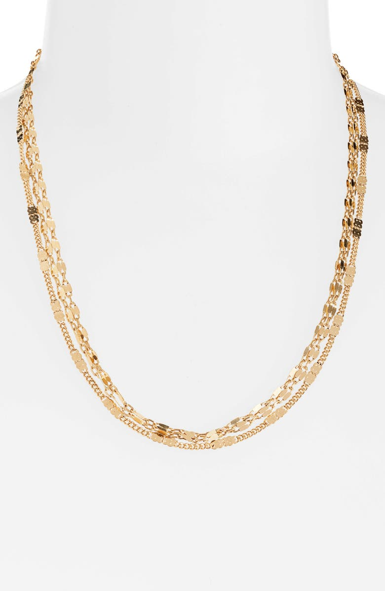 8 OTHER REASONS x Jill Jacobs Layered Necklace, Main, color, 710