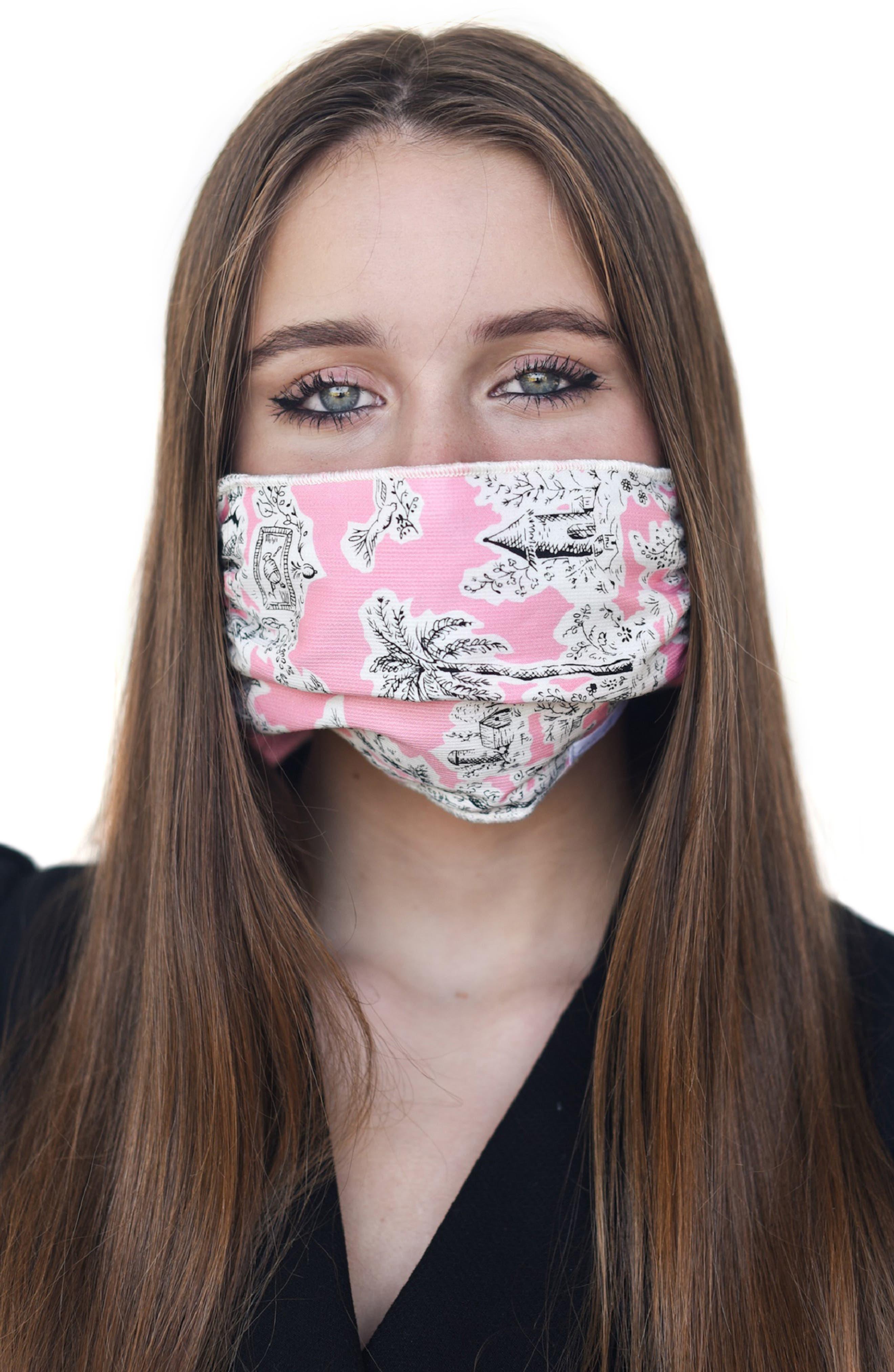 Women's Mali + Lili Adult Four Layer Adult Mask Scarf