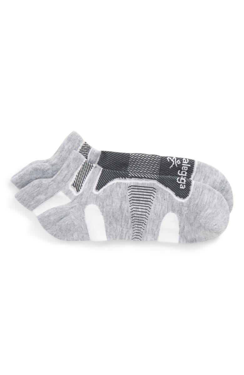 BALEGA Ultra Light Socks, Main, color, GREY/ WHITE