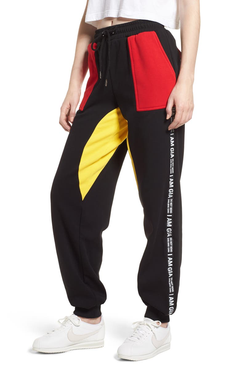I.AM.GIA Blaster Pants, Main, color, BLACK