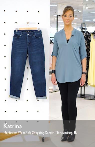 Isla Slim Boyfriend Jeans, sales video thumbnail