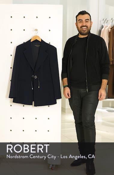 Carnet Tie Front Jacket, sales video thumbnail