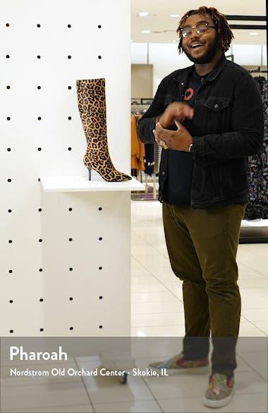 Katerina Genuine Calf Hair Knee High Boot, sales video thumbnail