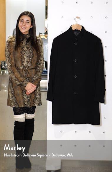 Trim Fit Wool Blend Overcoat, sales video thumbnail