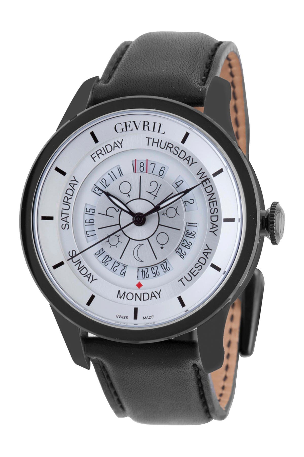 Image of Gevril Women's Columbus Circle Automatic Watch, 45mm