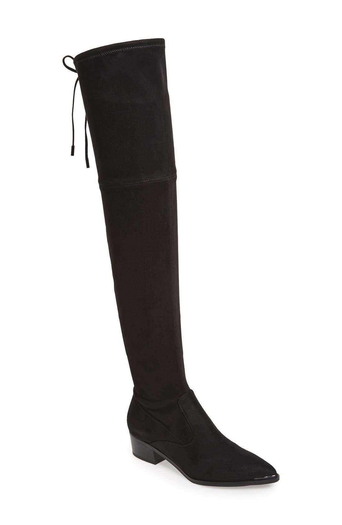 ,                             Yenna Over the Knee Boot,                             Main thumbnail 1, color,                             001